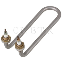 U Shaped Elbow AC220V 1000W M16 Thread Electric Tubular Water Heater Element