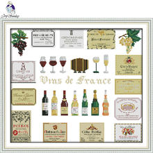 Joy Sunday,Wines,cross stitch embroidery set,cross stitch pattern,embroidery patterns,Needlework counted cross-stitch patterns joy sunday wine cross stitch embroidery set cross stitch pattern needlework counted cross stitch patterns chinese cross stitch