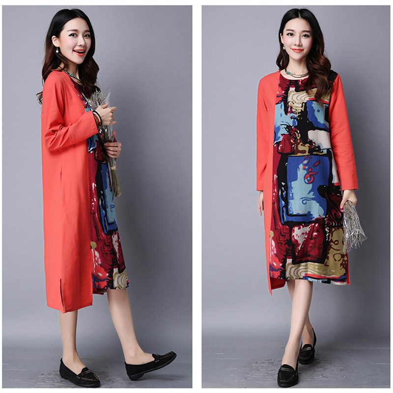 9b034aeb235 Maternity Dress New 2016 Summer Cotton Loose Casual Folds Dresses Pregnancy  For Pregnant Women Maternity Gown Photography YFQ005-in Dresses from Mother    ...