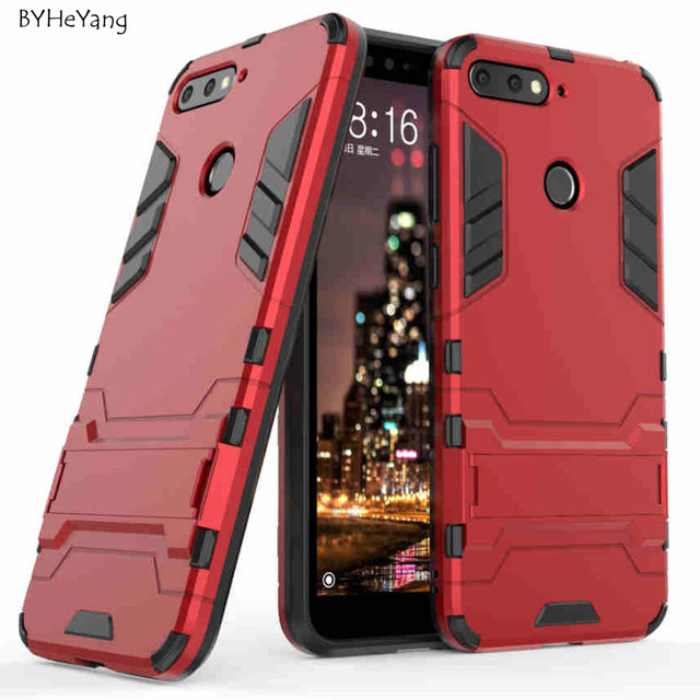finest selection ec071 dc7b2 US $3.05 |For Huawei Honor 7A Pro Case Huawei Y6 2018 Cover Hybrid Silicone  TPU Back Cover Phone Case For Huawei Honor 7A Pro AUM L29 Case-in Fitted ...