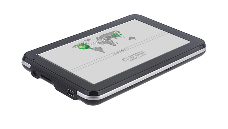 Équateur GPS 5 pouces voiture GPS navigation avec cartes gratuites de l'équateur - 3