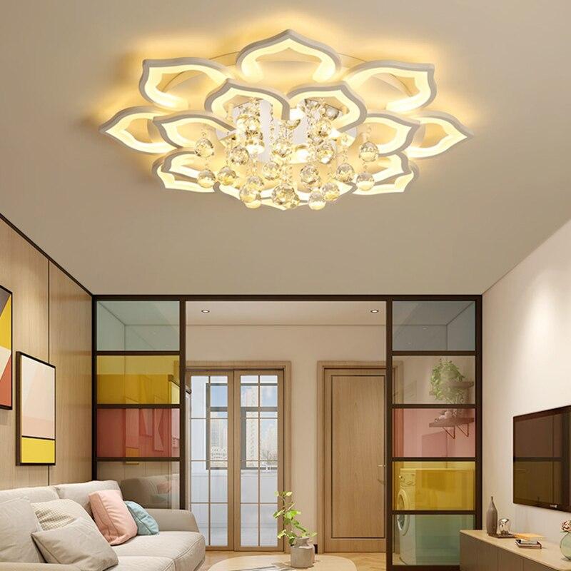 crystal Chandelier For Living room lights Fixture Lustre Bedroom modern chandelier ceiling led chandelier Indoor Home lighting|Chandeliers| |  - title=