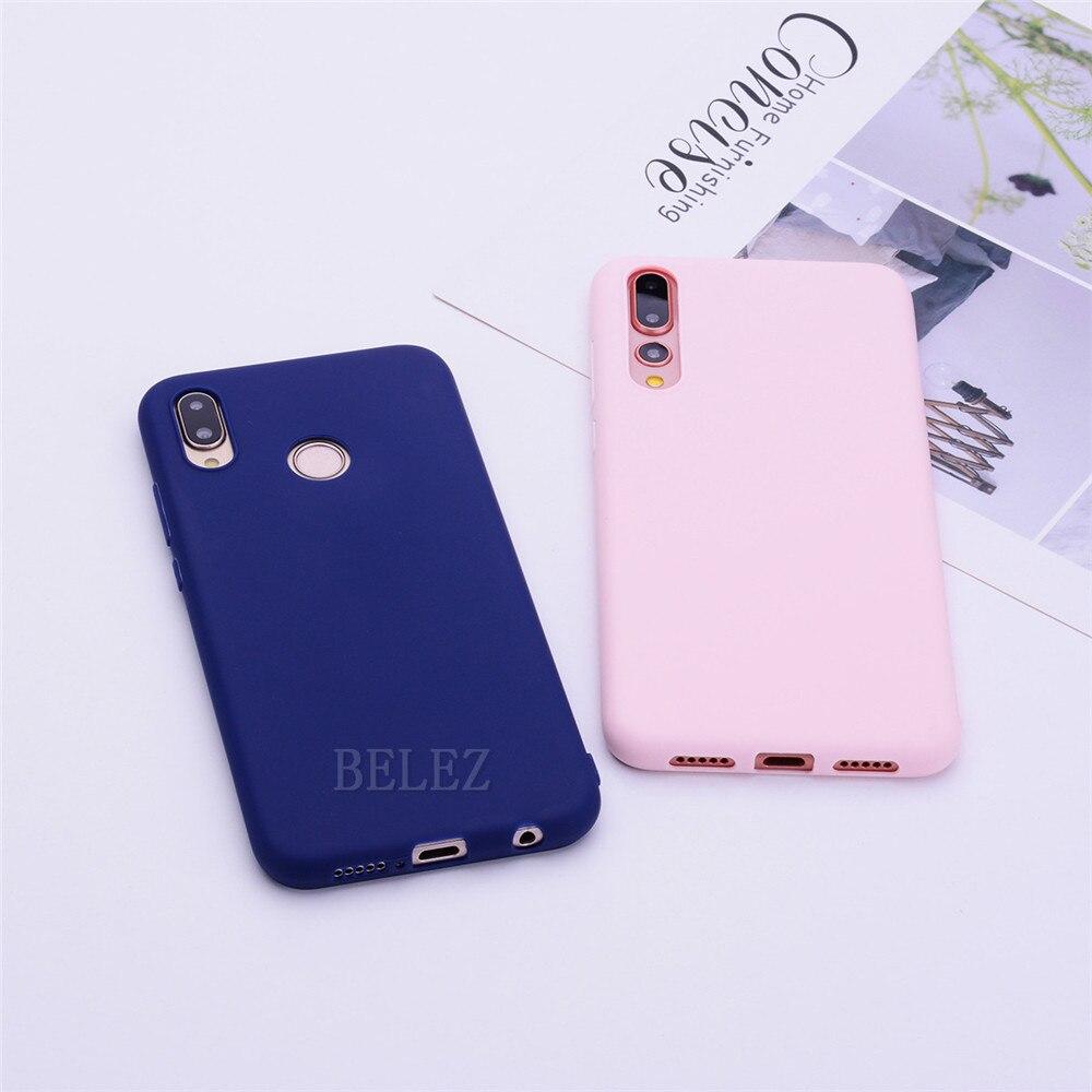 Soft TPU Candy Color Phone Case For Huawei P30 P20 Mate 20 Pro Lite P Smart Nova 4 Honor 8C 8X Max 7A 7C Y5 Y6 2018 Y9 2019 Case _11