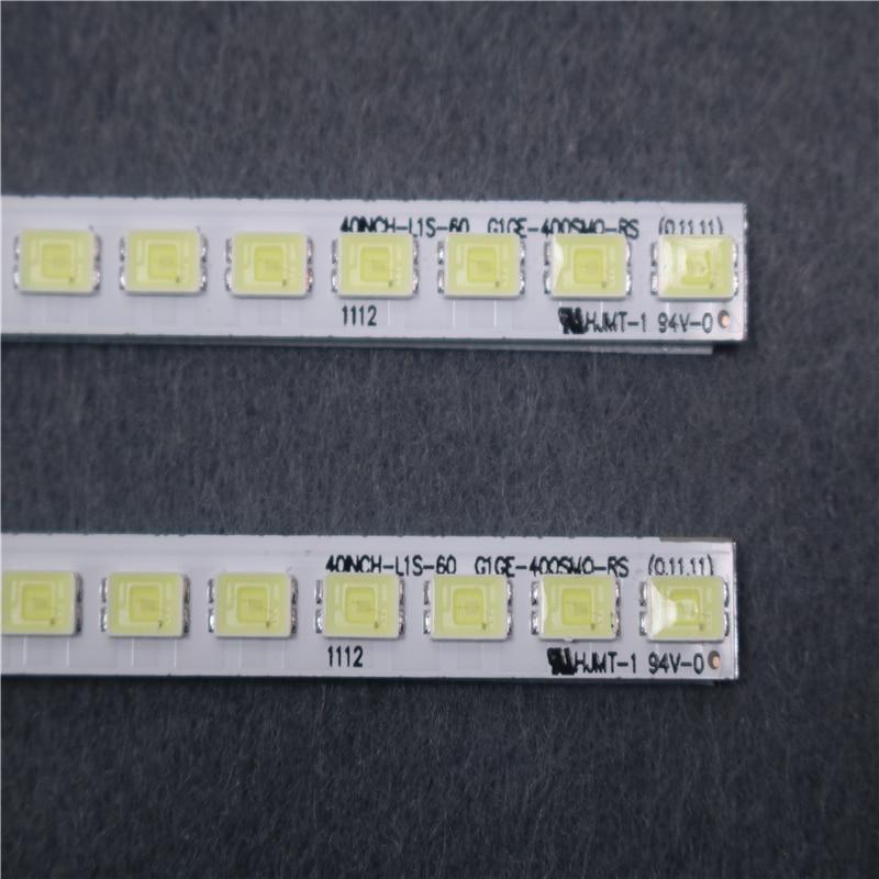 2piece For Samsung LCD TV LED Back Light Bar LJ64-03029A 40INCH-L1S-60 G1GE-400SM0-R6 Backlight 1piece=60LED 455MM Is New