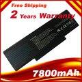 7800 mAh 9 batería del ordenador portátil para ASUS A9 A9T A9Rt A9W A9R A9C madre A32-F3 F2 F3 F3K F3U Z53