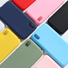 Honor 8S Case For Huawei AMN-LX9 8 S Candy Color Soft Silicon Phone Cover Y5 Prime 2019 Bumper Funda