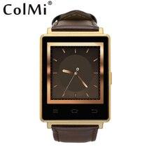 Colmi smart watch vs106 android 5.1 3g wifi sim einbauschlitz vibration pulsmesser push-nachricht bluetooth verbinden smartwatch
