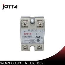 цена на SSR -10DA DC control AC SSR white shell Single phase Solid state relay