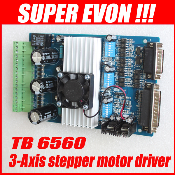 3axis TB6560 3 5A CNC engraving font b machine b font stepper motor driver board 16