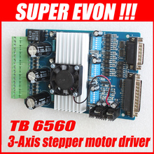 3 eje TB6560 3.5A CNC grabado máquina de pasos del tablero de conductor del motor de pasos de 16 segmentos controlador de motor D001A