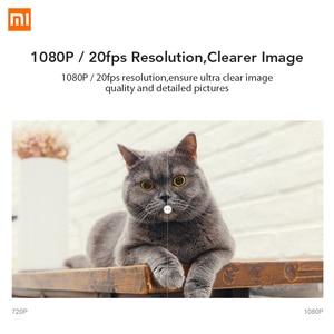 Image 3 - Xiaomi Mijia 1080P IP kamera 130 derece FOV gece görüş 2.4Ghz Xiaomi ev kiti güvenlik monitörü CCTV