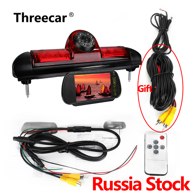 New CAMERA Rear View Reverse Backup CCD Camera For Fiat Ducato X250 Citroen Jumper III Peugeot Boxer III LED IR Parking Camera(China)