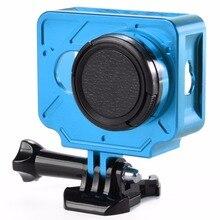 Снимать алюминиевый сплав Защитный чехол с 37 мм УФ-фильтр для Xiaomi Yi 1st действие Камера Интимные аксессуары