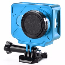 SHOOT Aluminium Alloy Protective Case with 37mm UV Filter for Xiaomi Yi 1st Action Camera Accessories
