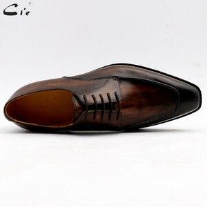 Image 3 - Мужская классическая кожаная обувь cie, мужская офисная обувь, мужские костюмы из натуральной телячьей кожи, деловые кожаные туфли ручной работы No.7