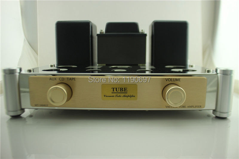 EL34 Tube Amp Push-Pull Class A amplifier Finished Product 5Z4 Rectifier Tube 6N1J Tube Hifi Stereo Audio kt88 tube amp push pull class a amplifier finished product 12at7 12au7 6e2 tube hifi stereo audio vacuum tube power amplifer