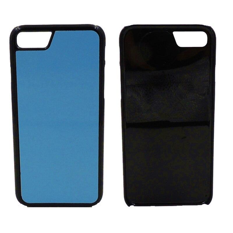 2D Sublimation Blans Plastic Case for iPhone 7 7 Plus 8 8 Plus - Բջջային հեռախոսի պարագաներ և պահեստամասեր - Լուսանկար 2