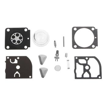 Zestaw naprawczy gaźnika części do przycinania piły łańcuchowej RB-100 uszczelka membrany do akcesoriów samochodowych HS45 tanie i dobre opinie wupp Plastic+paper+aluminum