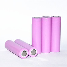 6pcs/lot 18650 Battery 100% Authentic 2600mAh High quality Li-ion Rechargeable battery 3.7V for Flashlight purple Free shippng