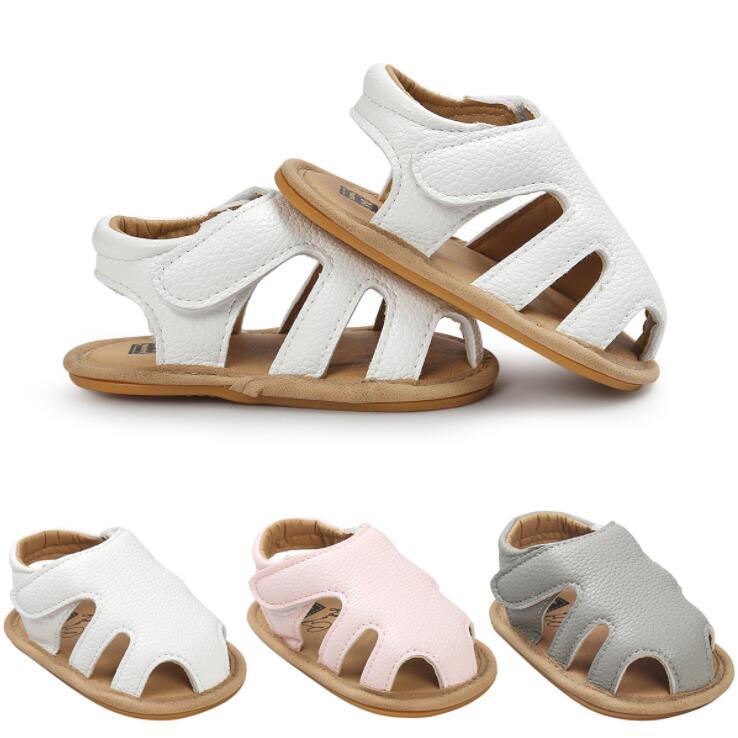 2018 Nouveaux modèles Cut-outs Jeans vente Chaude Pu en cuir Bébé mocassins D'été filles Garçons sandales Sneakers Infantile chaussures 0-18 M