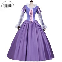 New Arrival Rapunzel Princess Cosplay Costumes Adult Costumes For Women Halloween Party Fancy Dress Custom Made