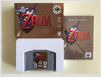 64 Bit Games ** Ocarina of time ( USA NTSC Version!! box+manual+cartridge!! ) 64 bit games castlevania legacy of darkness pal version box manual cartridge