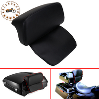 Chopped Backrest Pad For Harley Tour Pak Trunk Pack HD Touring Road King Street Glide Electra