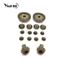 12T 24T 30T Metal Front Rear Differential Gear/Motor Driving Gear Upgrade Repair Parts for WLtoys 12428 12423 1/12 RC Cars Parts henglong 3938 3938 1 russian t90 1 16 rc tank upgrade parts metal chain set driving wheel inducer free shipping