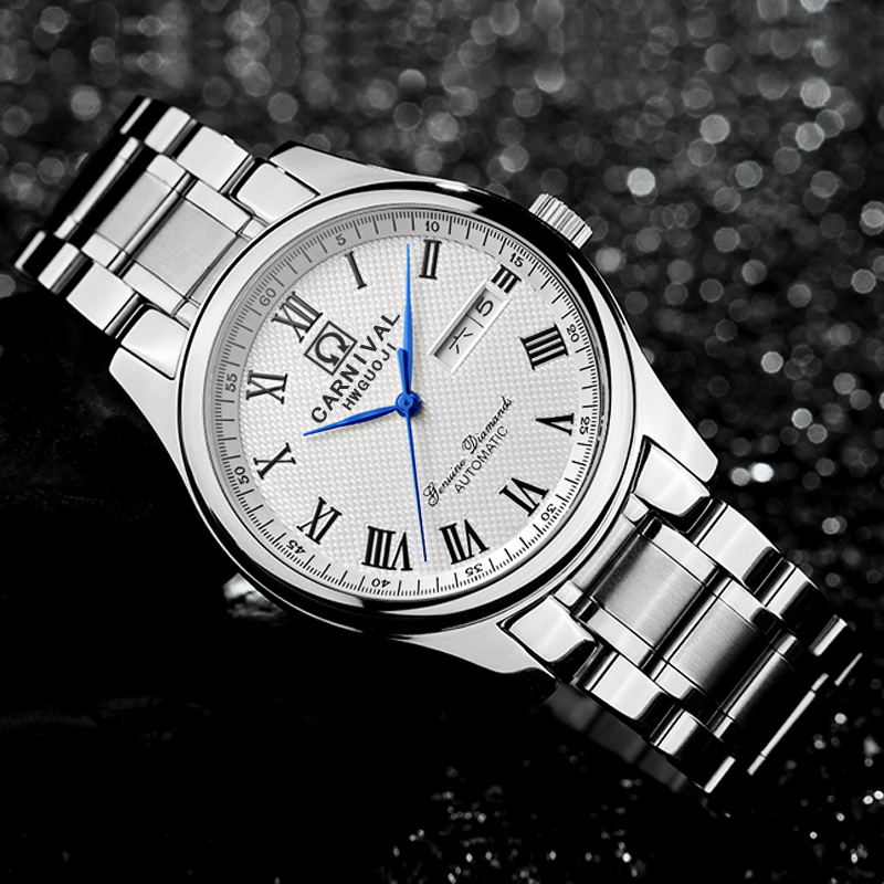 men watch automatic uhr herren montres wristwatch mens relogio masculino de luxo watches man horloges mannen automatic-in Mechanical Watches from Watches    1
