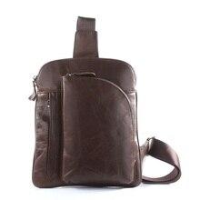 Fashion Men Multifunction travel bags genuine leather funny chest pack men waist pack hiqh quality men waist bags #VP-7194