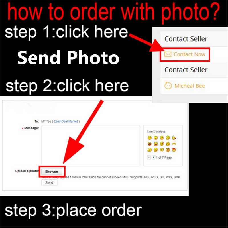 カスタマイズ名の手紙写真画像携帯電話ケース 1080p スマート Z PSmart Z DIY バックケースカバーシェル
