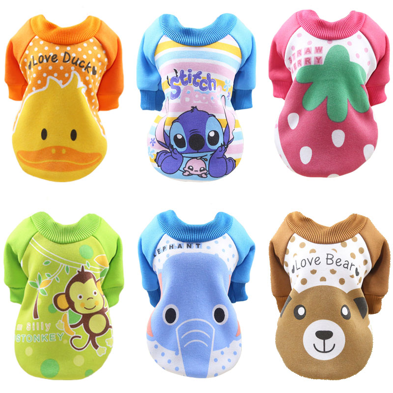 Cheap Pet Dog Clothes For Dogs Pets Clothing Small Medium Dog Shirts Winter Pet Hoodies For Dogs Costume Chihuahua Cat Clothing