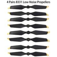 4 Pairs DJI Mavic Pro Platinum 8331 Low Noise Quick Release Propellers For Mavic Pro Accessories