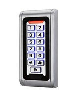 LED Keypad RFID 125khz Access Control System Proximity Card Standalone 2000 Users Door Access Control Metal
