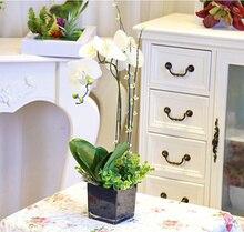 artificial orchid flower arrangement bonsai flower only no vase
