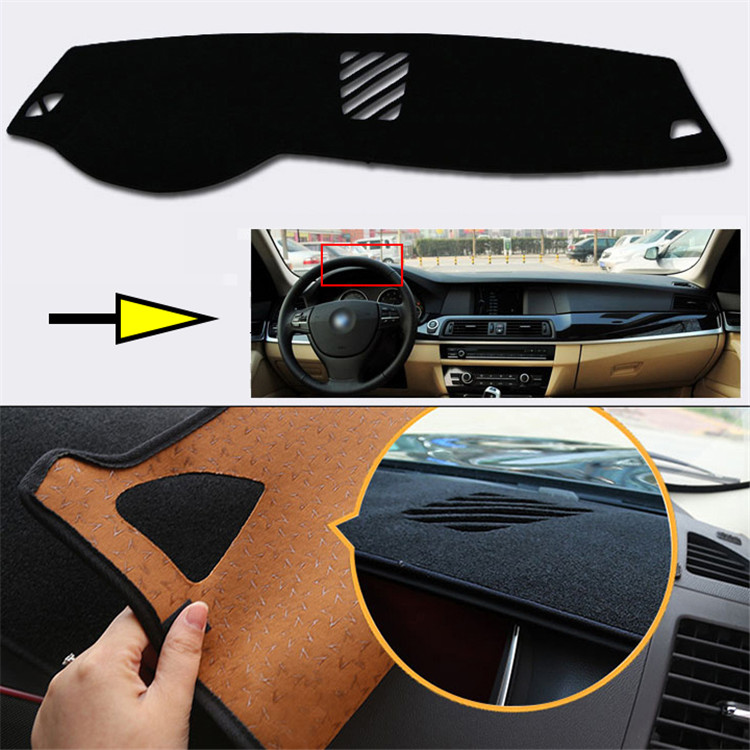 New Interior Dashboard Carpet Photophobism Protective Pad Mat For BMW 5 Series 2011 2013 in Car Anti dirty Pad from Automobiles Motorcycles