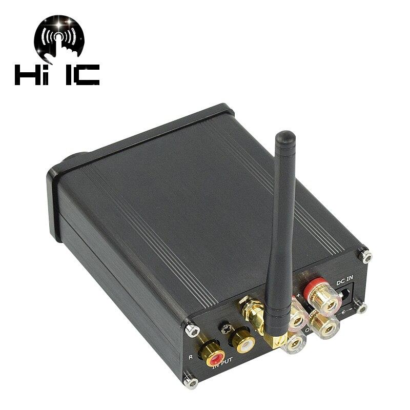 2018 HiFi Audio 2*50 watt TPA3116 Mini Bluetooth 4,0 Digitale TPA3116D2 Verstärker Amp Home Audio Aluminium Gehäuse FREIES VERSCHIFFEN-in Verstärker aus Verbraucherelektronik bei  Gruppe 1