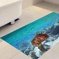 Unterwasser Welt 3D Boden Aufkleber Abnehmbare Anti-slip Wasserdichte Aufkleber Aufkleber Wand Bad Wohnzimmer Schlafzimmer Decor 60x120 cm