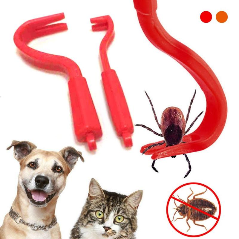 50/lot NEW HOT! Tick Twister Remover Hook Tool Pack x 2 Sizes Dog Horse Cat Pet Pet accessories A20 ...