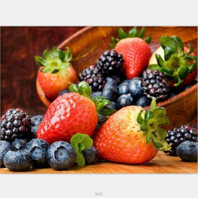 Aliexpresscom Comprar Diy pintura al leo de imgenes de frutas