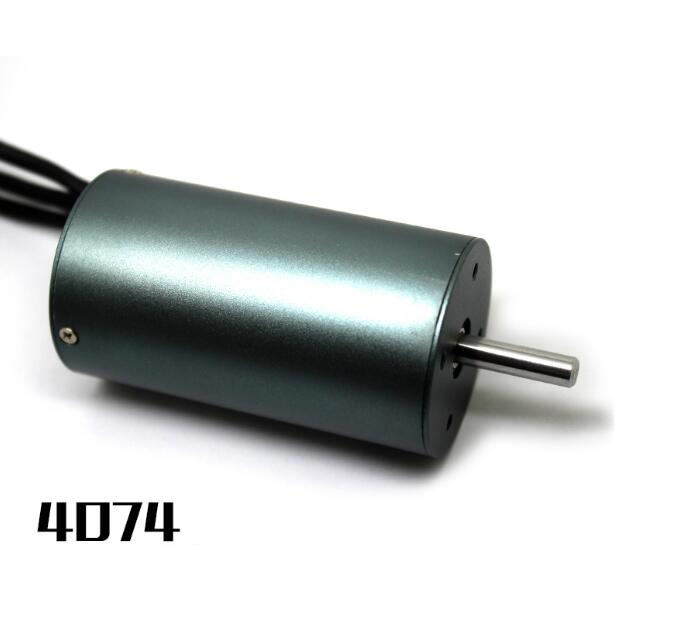 цена на Free Shipping 4074 Brushless RC Boat motor 1/8 on road car Buggy Off road car Monster truck motor 1400KV
