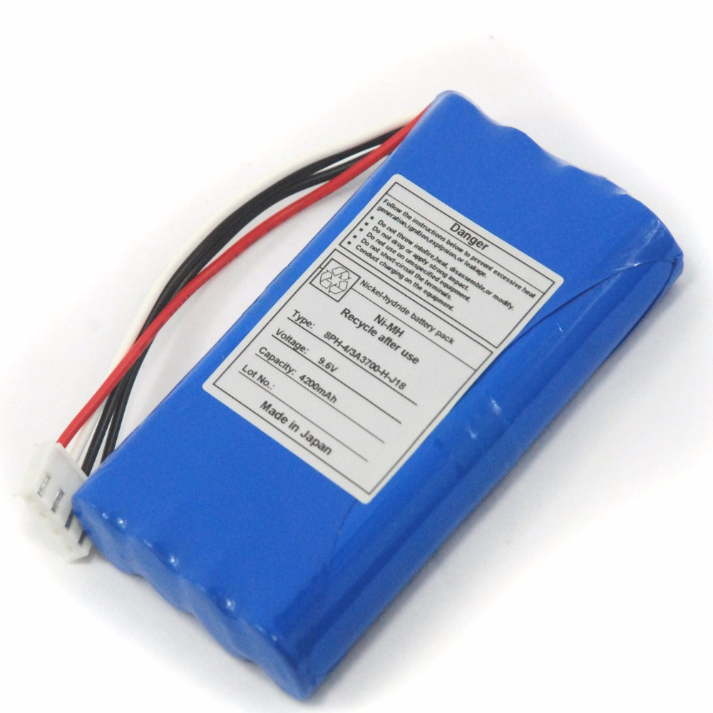 4200mAH New Electrocardiogram machine battery for Fukuda FCP-4830 ECP-4631 ECP-4641 FDX-4520 FDX-4521 medical battery for fx 8222 fx 8322r fcp 8321 fcp 8453 fx 2111 fcp 2155 8 hraafd ekg machine