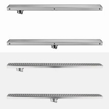 Floor Drain Invisible-Shower Linear-Anti-Odor Bathroom Long 304-Stainless-Steel 60cm