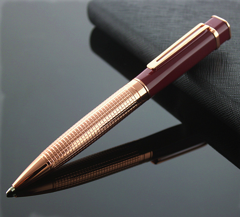 MONTE MOUNT 901 Metal Roller Pen Luxury Ballpoint Pen For Business Writing Office School Supplies Free Shipping