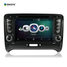7″ Android Quad core HD mirror link Car DVD Radio Player Stereo For Audi TT 2006-2011 with IOKONE rotating UI WIFI GPS 3G CANBUS