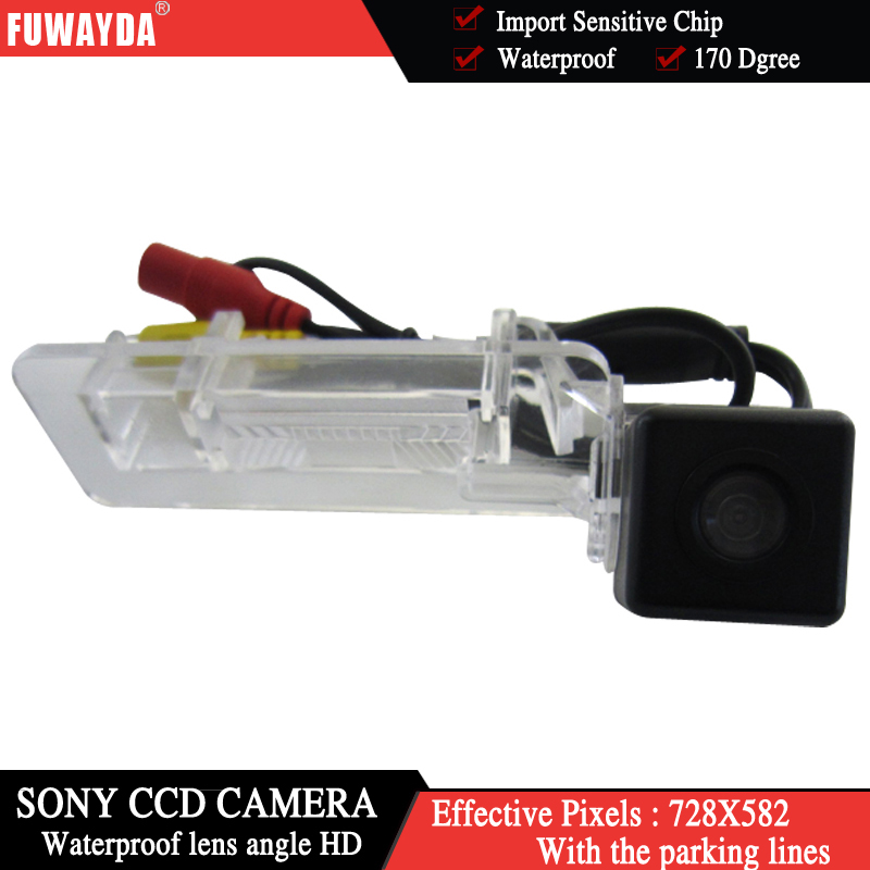 FUWAYDA Wireless SONY CCD Special Car Rear View Reverse Parking Kit Back Up GPS DVD Nav CAMERA for Mercedes-Benz SMART HD