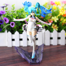 22cm Hatsune Miku 1/8 Scale Painted Figure Collectible Model Toy -16 цена