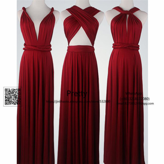 1b738da429bc Spring 2017 Bridesmaid Dresses Long with More Design Chiffon Burgundy Wedding  Guest Dress Wedding Party Gown Bridesmaid Dress