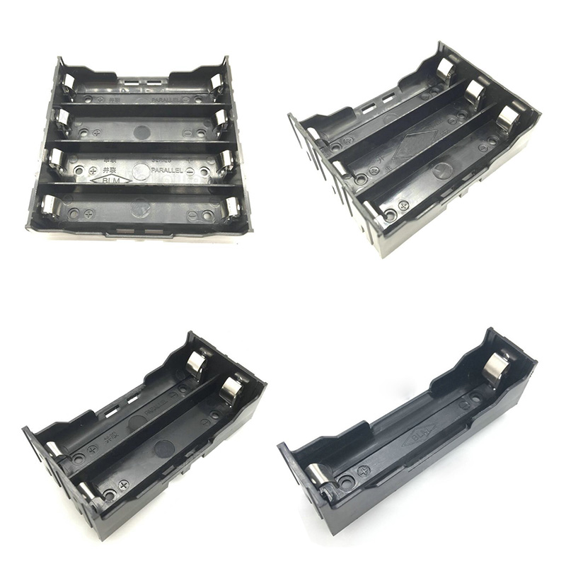 1Pcs lot ABS 18650 Battery Holder 1 Slot 2 Slot 3 Slot 4 Slot 18650 Battery