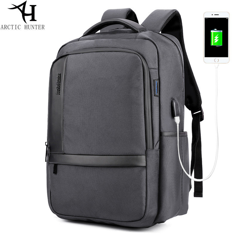 ARCTIC HUNTER Casual Women Backpack USB Backpack Men 15.6 inch Laptop Backpacks For Teenage Girls Gift Drop Shipping Wholesal arctic hunter design 15 6 laptop backpacks men password lock backpack waterproof bag casual business travel backpack male b00208
